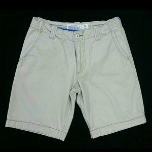 Aeropostale Size 30 Khaki shorts, good used con.